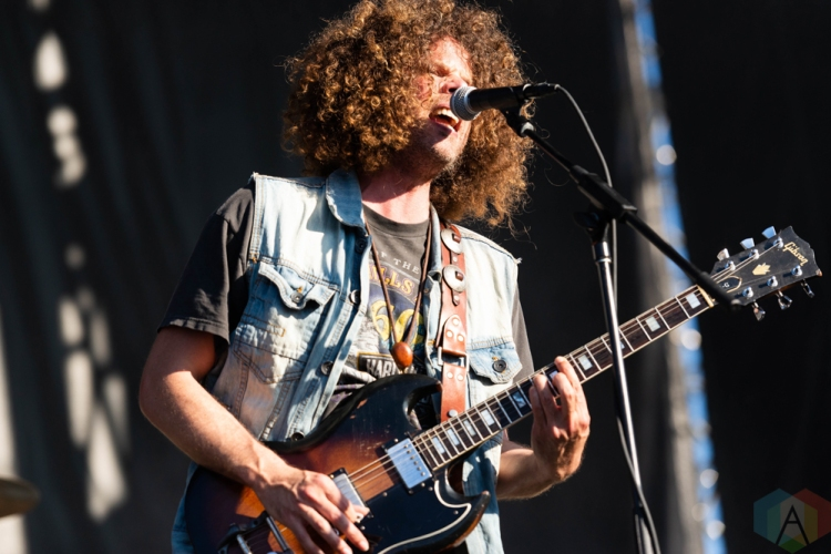 CHICAGO, IL - SEPTEMBER 15: Wolfmother performs at Riot Fest at Douglas Park in Chicago on September 15, 2018. (Photo: Katie Kuropas/Aesthetic Magazine)