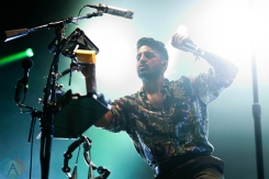 CHICAGO, IL – SEPTEMBER 14: Young The Giant performs at Riot Fest at Douglas Park in Chicago on September 14, 2018. (Photo: Katie Kuropas/Aesthetic Magazine)