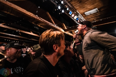 SEATTLE, WA - OCTOBER 05: A Wilhelm Scream performs at Showbox SoDo in Seattle on October 05, 2018. (Photo: Kevin Tosh/Aesthetic Magazine)