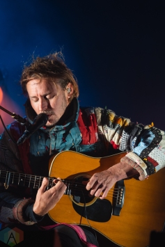 TORONTO, ON - OCTOBER 05: Ben Howard performs at Budweiser Stage in Toronto on October 05, 2018. (Photo: Adam Horton/Aesthetic Magazine)