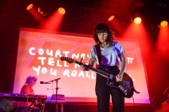 BROOKLYN, NY - OCTOBER 22 - Courtney Barnett performs at Brooklyn Steel in Brooklyn, New York on October 22, 2018. (Photo: Alx Bear/Aesthetic Magazine)