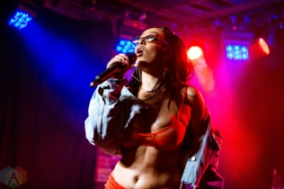 TORONTO, ON - OCTOBER 10: Doja Cat performs at Velvet Underground in Toronto on October 10, 2018. (Photo: Katrina Lat/Aesthetic Magazine)