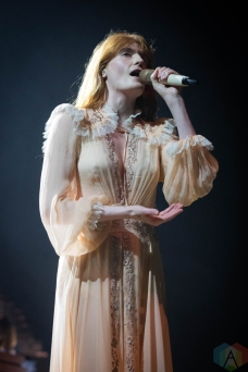 TORONTO, ON - OCTOBER 16: Florence And The Machine performs at Scotiabank Arena in Toronto, Ontario on October 16, 2018. (Photo: Brendan Albert/Aesthetic Magazine)