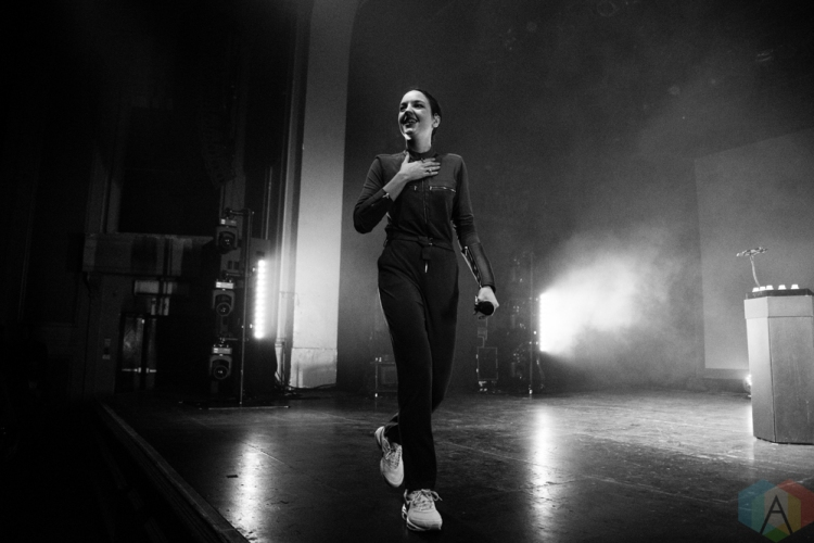 TORONTO, ON - OCTOBER 24: Jain performs at Danforth Music Hall in Toronto on October 24, 2018. (Photo: Morgan Hotston/Aesthetic Magazine)