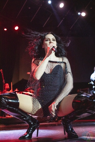 TORONTO, ON - OCTOBER 16: Jessie J performs at Rebel in Toronto on October 16, 2018. (Photo: Charito Yap/Aesthetic Magazine)