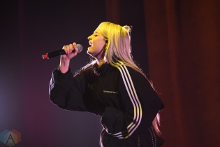 TORONTO, ON - OCTOBER 15: Kim Petras performs at Sony Centre in Toronto on October 15, 2018. (Photo: Jaime Espinoza/Aesthetic Magazine)