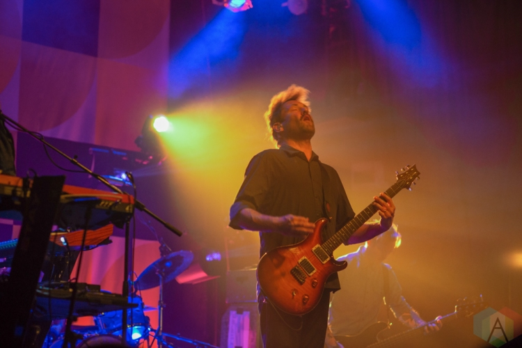TORONTO, ON - OCTOBER 21: Minus the Bear performs at Phoenix Concert Theatre in Toronto on October 21, 2018. (Photo: Josh Ladouceur/Aesthetic Magazine)