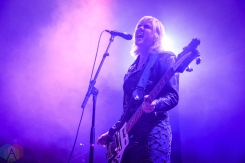 BROOKLYN, NY - OCTOBER 22 - Sunflower Bean performs at Brooklyn Steel in Brooklyn, New York on October 22, 2018. (Photo: Alx Bear/Aesthetic Magazine)