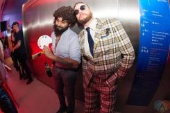 TORONTO, ON - OCTOBER 25: Attendees mingle at TIFF Boombox at TIFF Bell Lightbox in Toronto on October 25, 2018. (Photo: Morgan Harris/Aesthetic Magazine)