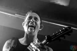 CINCINNATI, OH - OCTOBER 08: Trivium performs at Bogart's in Cincinnati, Ohio on October 08, 2018. (Photo: Tiffany Detzel/Aesthetic Magazine)
