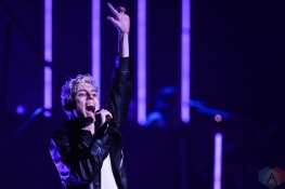 TORONTO, ON - OCTOBER 15: Troye Sivan performs at Sony Centre in Toronto on October 15, 2018. (Photo: Jaime Espinoza/Aesthetic Magazine)