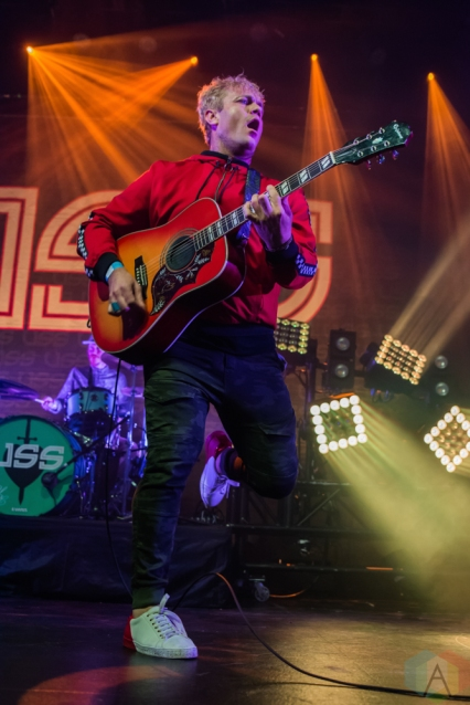 TORONTO, ON - OCTOBER 28: USS performs at Rebel in Toronto on October 28, 2018. (Photo: Tyler Roberts/Aesthetic Magazine)