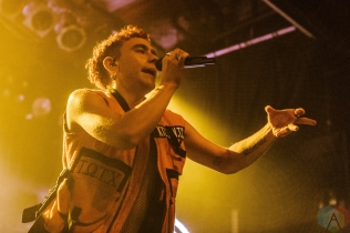 TORONTO, ON - OCTOBER 05: Years And Years performs at Phoenix Concert Theatre in Toronto on October 05, 2018. (Photo: Jenna Hum/Aesthetic Magazine)