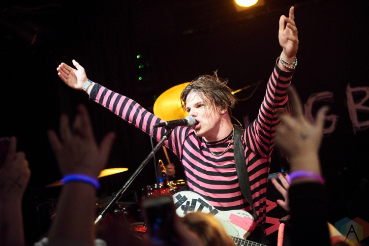 TORONTO, ON - OCTOBER 21: Yungblud performs at Rivoli in Toronto on October 21, 2018. (Photo: Morgan Harris/Aesthetic Magazine)