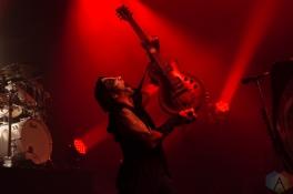 TORONTO, ON - NOVEMBER 06: Behemoth performs at Danforth Music Hall in Toronto on November 06, 2018. (Photo: Tyler Roberts/Aesthetic Magazine)