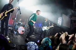 TORONTO, ON - NOVEMBER 20: Boston Manor performs at The Mod Club in Toronto on November 20, 2018. (Photo: Morgan Harris/Aesthetic Magazine)