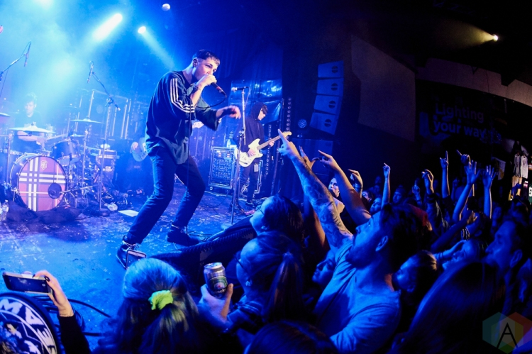 TORONTO, ON - NOVEMBER 20: Boston Manor performs at The Mod Club in Toronto on November 20, 2018. (Photo: Morgan Harris/Aesthetic Magazine)