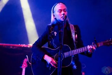 TORONTO, ON - NOVEMBER 10: BoyGenius performs at Danforth Music Hall in Toronto on November 10, 2018. (Photo: Morgan Harris/Aesthetic Magazine)