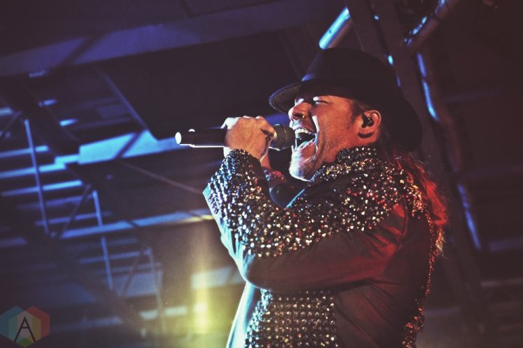 TORONTO, ON - NOVEMBER 28: Fozzy performs at the Rockpile in Toronto on November 28, 2018. (Photo: Adam Harrison/Aesthetic Magazine)
