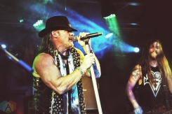 TORONTO, ON - NOVEMBER 28: Fozzy performs at the Rockpile in Toronto on November 28, 2018. (Photo: Adam Harrison/Aesthetic Magazine)