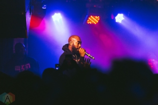 TORONTO, ON - NOVEMBER 19: Freddie Gibbs performs at the Velvet Underground in Toronto on November 19, 2018. (Photo: Josh Moody/Aesthetic Magazine)