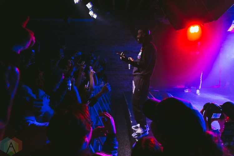 TORONTO, ON - NOVEMBER 19: Freddie Gibbs performs at the Velvet Underground in Toronto on November 19, 2018. (Photo: Josh Moody/Aesthetic Magazine)