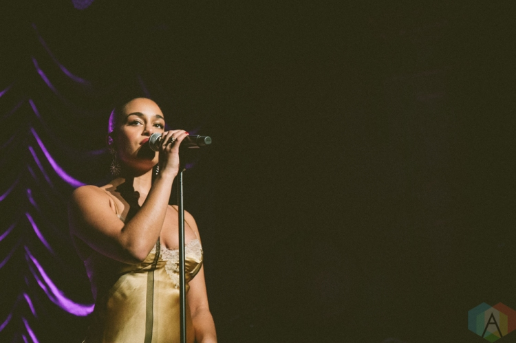 VANCOUVER, BC - NOVEMBER 20: Jorja Smith performs at Orpheum Theatre in Vancouver on November 20, 2018. (Photo: Danica Bansie/Aesthetic Magazine)