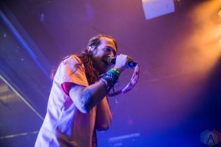 TORONTO, ONTARIO - NOVEMBER 07: Mayday Parade performs at Phoenix Concert Theatre in Toronto on November 07, 2018. (Photo: Brandon Newfield/Aesthetic Magazine)