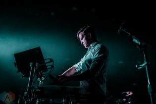 TORONTO, ON - NOVEMBER 09: St. Lucia performs at Danforth Music Hall in Toronto on November 09, 2018. (Photo: Joanna Glezakos/Aesthetic Magazine)
