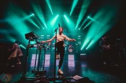 TORONTO, ON - NOVEMBER 09: St. Lucia performs at Danforth Music Hall in Toronto on November 09, 2018. (Photo: Joanna Glezakos/Aesthetic Magazine)