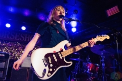 TORONTO, ON - NOVEMBER 04: The Joy Formidable performs at Horseshoe Tavern in Toronto on November 04, 2018. (Photo: Morgan Hotston/Aesthetic Magazine)