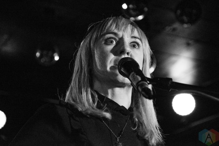 TORONTO, ON - NOVEMBER 04: The Joy Formidable performs at Horseshoe Tavern in Toronto on November 04, 2018. (Photo: Morgan Hotston/Aesthetic Magazine)