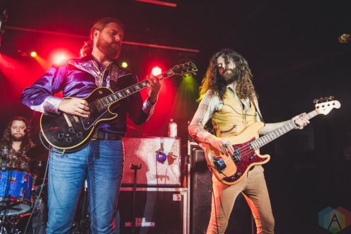 LONDON, UK - NOVEMBER 05: The Sheepdogs performs at the Borderline in London, England on November 05, 2018. (Photo: Janine Van Oostrom/Aesthetic Magazine)