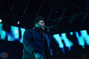 TORONTO, ON - NOVEMBER 06: The Weeknd performs at Rebel in Toronto, Ontario on November 06, 2018 as part of HXOUSE. (Photo: Stephan Ordonez/Aesthetic Magazine)