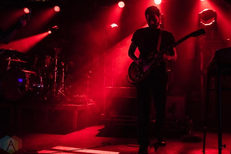 SEATTLE, WA - NOVEMBER 04: Thrice performs at Showbox SODO in Seattle on November 04, 2018. (Photo: Kevin Tosh/Aesthetic Magazine)
