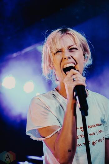 MANCHESTER, UK - NOVEMBER 13: Tonight Alive performs at Manchester Club Academy in Manchester, UK on November 13, 2018. (Photo: Harris Tomlinson-Spence/Aesthetic Magazine)