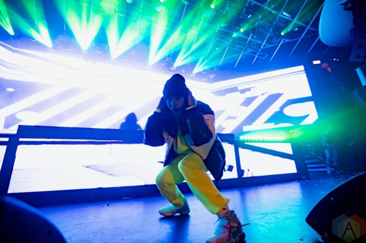 TORONTO, ON - DECEMBER 16: DVBBS performs at Rebel in Toronto on December 16, 2018. (Photo: Michael Hurcomb/Aesthetic Magazine)