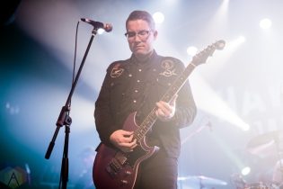 TORONTO, ON - DECEMBER 15: Hawthorne Heights performs at The Opera House in Toronto on December 15, 2018. (Photo: Joanna Glezakos/Aesthetic Magazine)