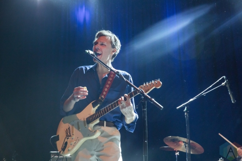 TORONTO, ON - DECEMBER 21: Joel Plaskett performs at Danforth Music Hall in Toronto on December 21, 2018. (Photo: Lauren Garbutt/Aesthetic Magazine)