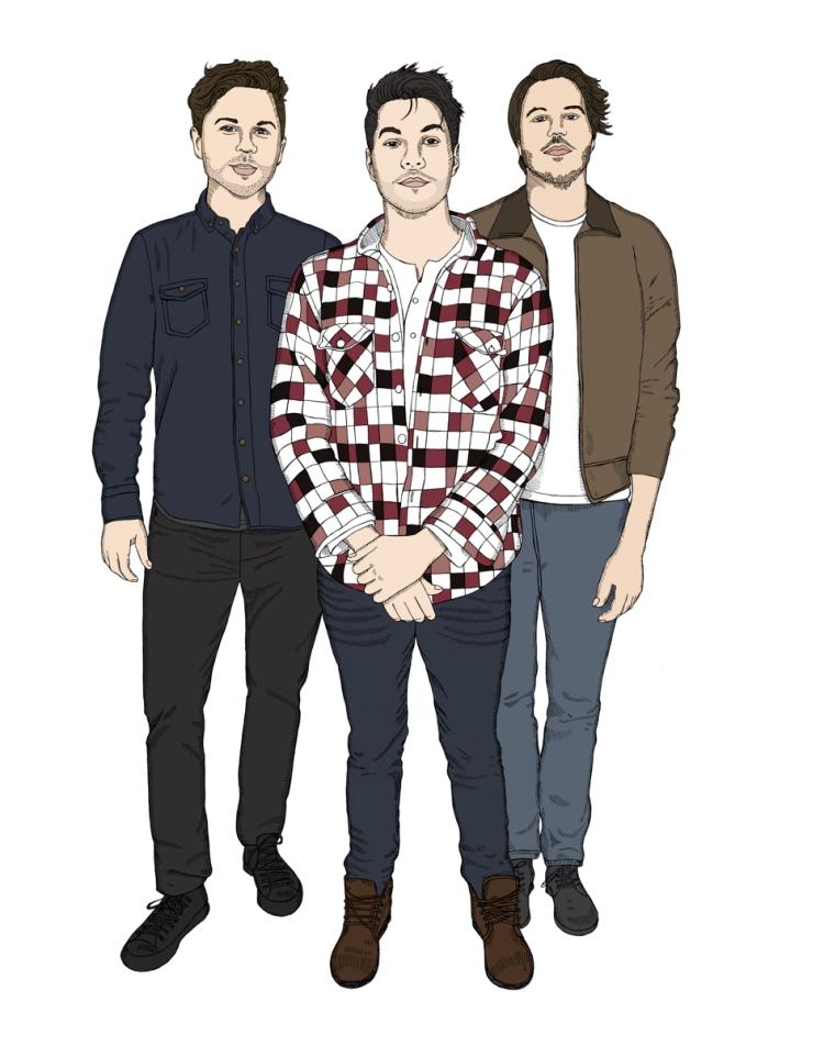 (L-R): Max Kerman, Mike Veerman, and Shane Cunningham.