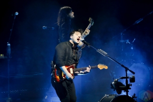TORONTO, ON - DECEMBER 17: Mumford And Sons performs at Scotiabank Arena in Toronto on December 17, 2018. (Photo: Michael Hurcomb/Aesthetic Magazine)