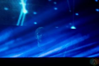 TORONTO, ON - DECEMBER 16: Murda Beatz performs at Rebel in Toronto on December 16, 2018. (Photo: Michael Hurcomb/Aesthetic Magazine)