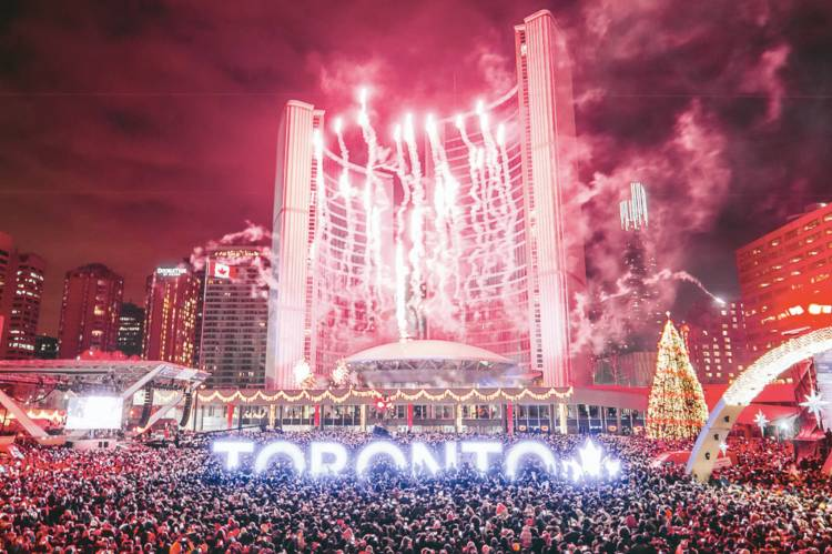 NYE Party Toronto 2019