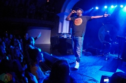 TORONTO, ON - DECEMBER 14: Shad performs at The Great Hall in Toronto on December 14, 2018. (Photo: Morgan Harris/Aesthetic Magazine)