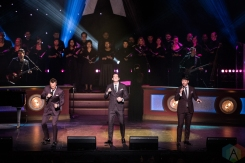 TORONTO, ON - DECEMBER 17: The Tenors performs at Sony Centre in Toronto on December 17, 2018. (Photo: Jaime Espinoza/Aesthetic Magazine)