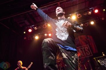 TORONTO, ON - DECEMBER 06: Cancer Bats performs at Phoenix Concert Theatre in Toronto on December 06, 2018. (Photo: Morgan Harris/Aesthetic Magazine)