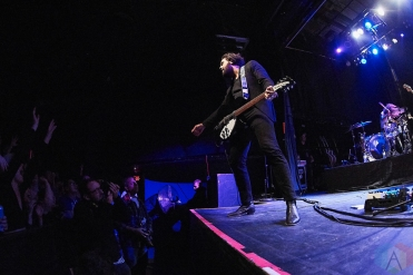 TORONTO, ON - DECEMBER 07: Gang of Youths performs at Phoenix Concert Theatre in Toronto on December 07, 2018. (Photo: Morgan Harris/Aesthetic Magazine)