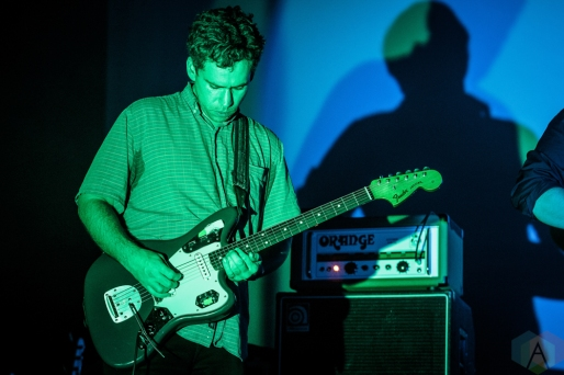 TORONTO, ON - DECEMBER 05: Parquet Courts performs at Danforth Music Hall in Toronto on December 05, 2018. (Photo: David McDonald/Aesthetic Magazine)