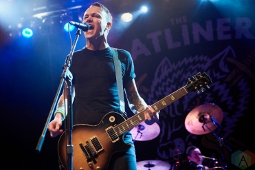 TORONTO, ON - DECEMBER 06: The Flatliners performs at Phoenix Concert Theatre in Toronto on December 06, 2018. (Photo: Morgan Harris/Aesthetic Magazine)