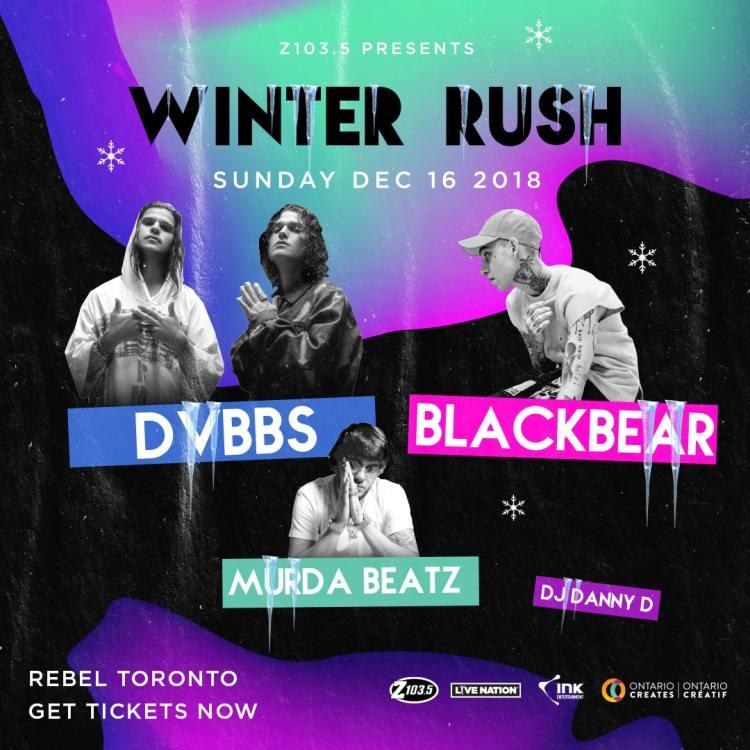 Winter Rush Toronto 2018